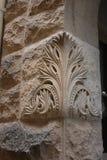 Pedra calcária cinzelada Imagem de Stock Royalty Free