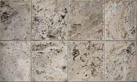 A pedra calcária envelhecida da dolomite obstrui a textura Imagem de Stock Royalty Free