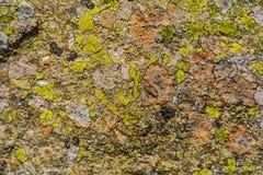 Pedra colorida agradável fotos de stock royalty free