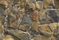 Pedra colorida da parede Fotos de Stock Royalty Free
