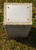 Pedra concreta Foto de Stock