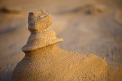 Pedra da areia Imagem de Stock