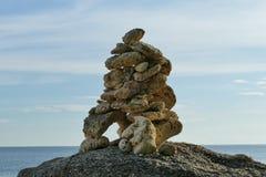 Pedra da arte Foto de Stock