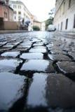 Pedra da estrada Foto de Stock