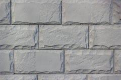 Pedra da fachada A textura da alvenaria Imagens de Stock Royalty Free