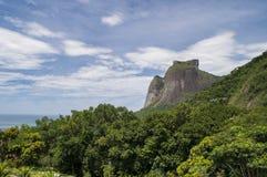 Pedra da Gávea, Gavea岩石 库存照片
