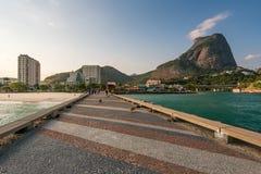 Pedra da Gavea bergbildande i Rio de Janeiro Royaltyfria Foton