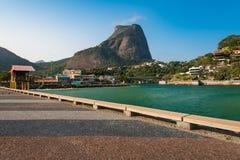 Pedra da Gavea bergbildande i Rio de Janeiro Royaltyfri Foto