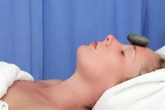 Pedra da massagem Fotografia de Stock