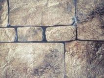 Pedra da parede das texturas bonitas do close up e fundo abstratos do assoalho de telha fotos de stock