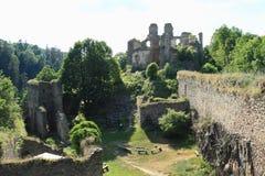 Pedra das meninas do castelo Fotografia de Stock