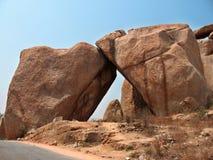 Pedra de encontro à pedra Foto de Stock Royalty Free