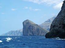 Pedra de flutuação - Mallorca Imagens de Stock