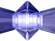 Pedra de gema ilustração do vetor