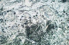 Pedra de mármore verde natural Foto de Stock Royalty Free