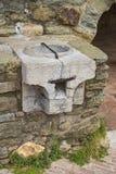A pedra de medição Imagem de Stock Royalty Free