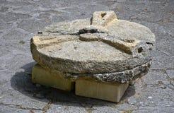 Pedra de moer fotografia de stock royalty free