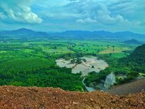 Pedra de Mountrain Foto de Stock