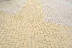 Pedra de pavimentação Fotos de Stock