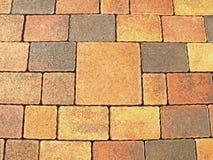Pedra de pavimentação de bloqueio imagem de stock
