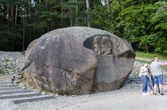 Pedra de Puntukas Fotos de Stock