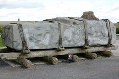 Pedra de Stonehenge Sarsen fotos de stock royalty free