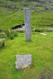 Pedra de três condados Foto de Stock Royalty Free