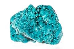 Pedra de turquesa fotografia de stock