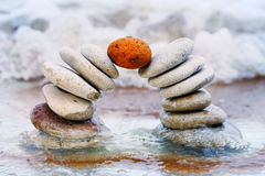 Pedra do bloqueador Imagens de Stock Royalty Free