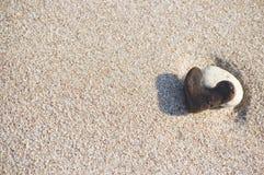 Pedra do coração Fotos de Stock