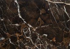 Pedra do mármore da veia de Brown Imagem de Stock Royalty Free