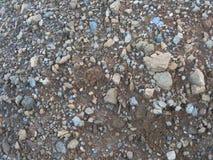 Pedra do material da textura do cascalho do granito Foto de Stock