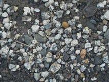 Pedra do material da textura do cascalho do granito Fotografia de Stock
