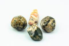 Pedra do nascimento do jaspe. Fotos de Stock