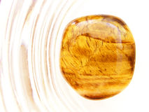 Pedra do olho do tigre Fotografia de Stock