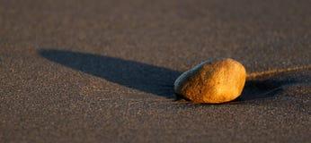 Pedra do por do sol Fotos de Stock