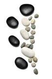 Pedra do seixo ou pedra do zen fotografia de stock royalty free