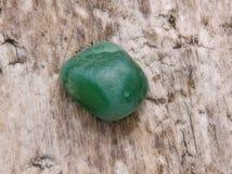 Pedra do verde de Aventurine Imagem de Stock