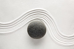 Pedra do zen Fotos de Stock Royalty Free