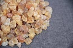 pedra dourada Fotos de Stock