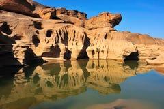 Pedra e água Imagem de Stock