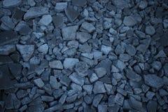 Pedra e almofariz quebrados fotografia de stock royalty free