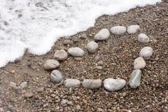 Pedra e mar fotos de stock royalty free