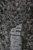 Pedra e rocha Foto de Stock