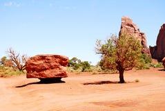 Pedra e três Fotos de Stock Royalty Free
