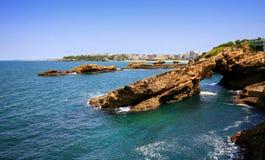 Pedra em Biarritz (França) Imagem de Stock Royalty Free