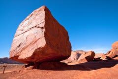 Pedra enorme do Lit de Sun, marco para o lugar de culto Foto de Stock Royalty Free