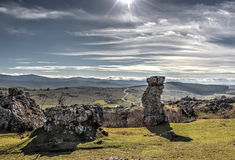 Pedra ereta natural Imagem de Stock Royalty Free