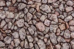 Pedra esmagada como um fundo Imagens de Stock Royalty Free