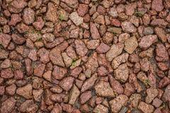 Pedra esmagada como um fundo Fotos de Stock Royalty Free